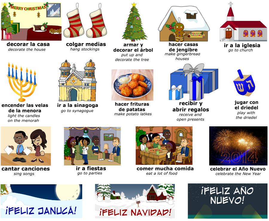 Conversaci n holidays spanish 1 for En 8 dias cumplo anos